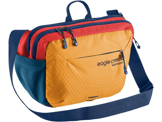 Eagle Creek Wayfinder Crossbody-laukku, sahara yellow